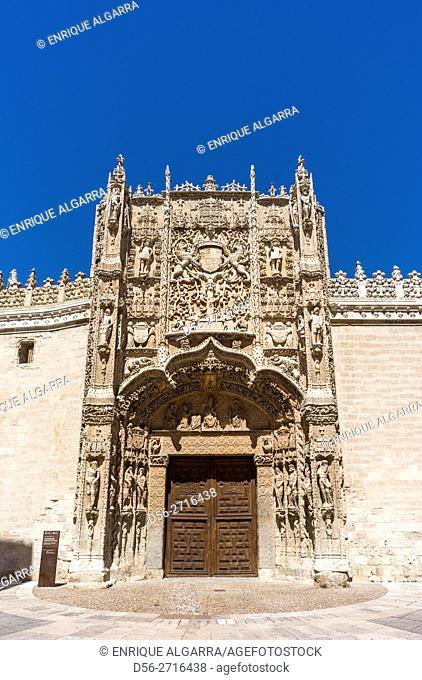 Colegio de San Gregorio Plateresque style Valladolid Castilla Leon Community Spain Saint Gregory College