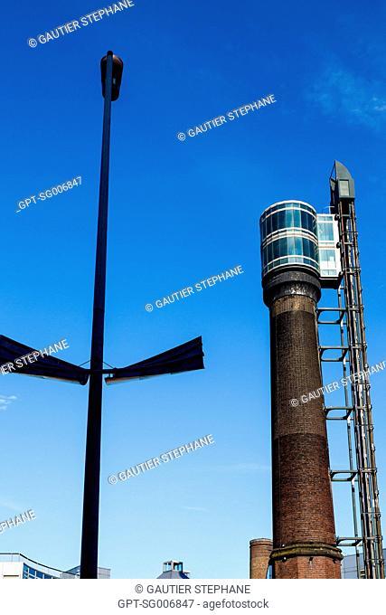 TOWER OF THE OLD JAMESON DISTILLERY, DUBLIN, IRELAND