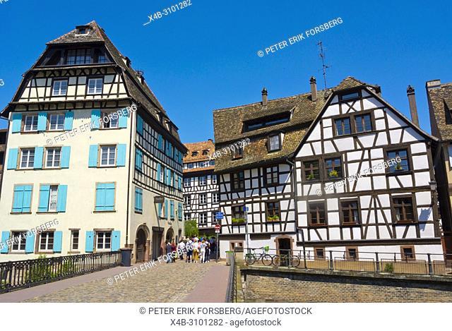 Pont du Faisan, La Petite France, Strasbourg, Alsace, France