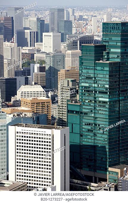 Izumi Garden Tower, Tokyo City View, Roppongi Hills Mori Tower, Tokyo, Japan