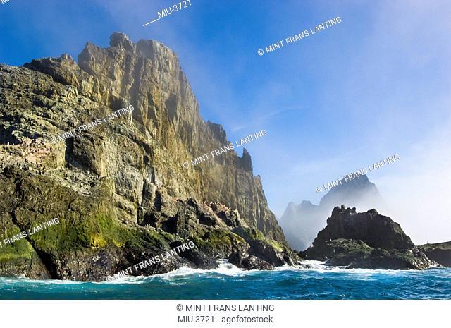 Coastline, Elephant Island, South Shetland Archipelago, Antarctica