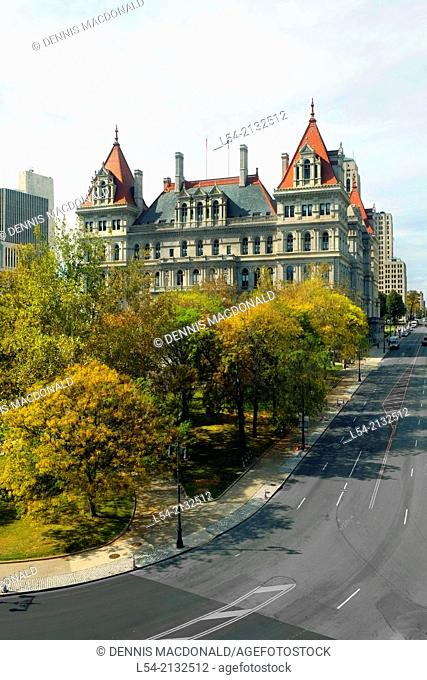 State Capitol Building Statehouse Albany New York NY Capital