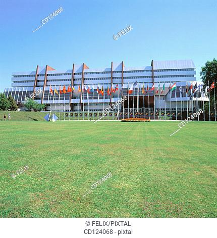 Council of Europe. Strasbourg. France