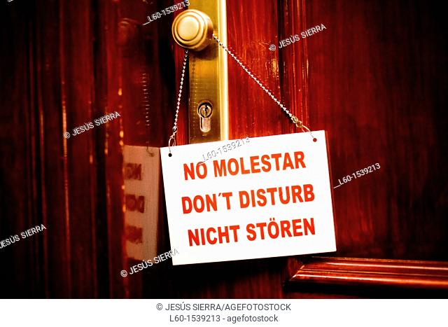 'Don't disturb' Hotel