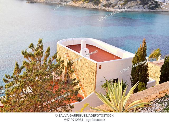 Villas in front line, Moraira, Teulada, Alicante, Valencia, Spain
