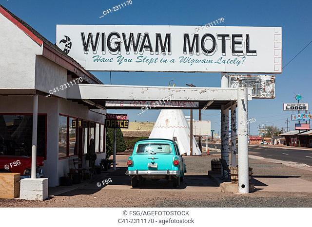 Wigwam Motel. Holbrook, Arizona. USA