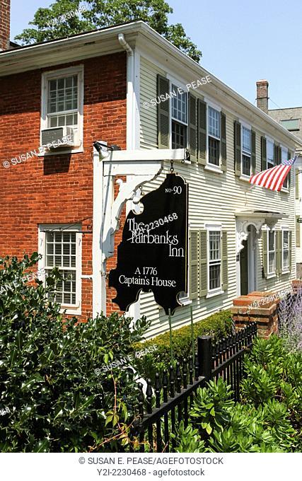 The Fairbanks Inn, Provincetown, Massachusetts, USA
