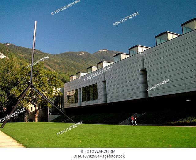 France, Grenoble, Isere, Rhone-Alpes, Europe, Musee de Grenoble, Place de Lavalette