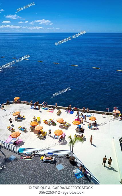 Lido, Funchal, Atlantic ocean, Madeira