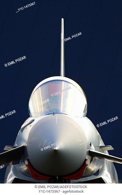 Eurofighter Typhoon nose profile