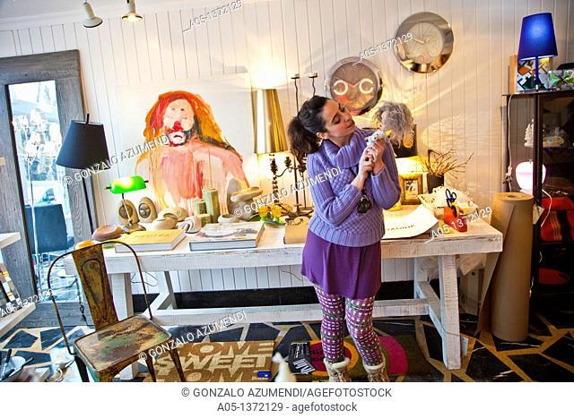 Voragine, Decoration Shop, Owner: Macarena Bernardo Suarez, Aviles, Asturias, Spain