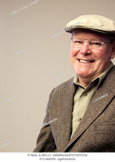Middle Aged Man Grinning