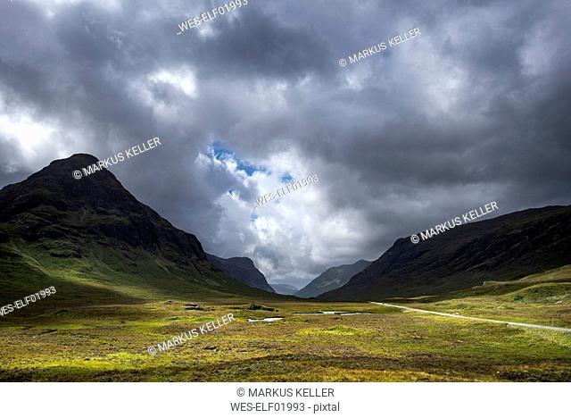 Great Britain, Scotland, Scottish Highlands, Glen Coe