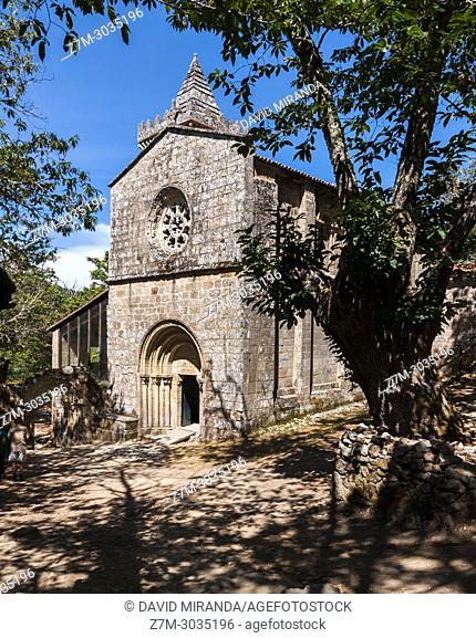 Monasterio de Santa Cristina de Ribas de Sil. Ourense. Galicia. Spain