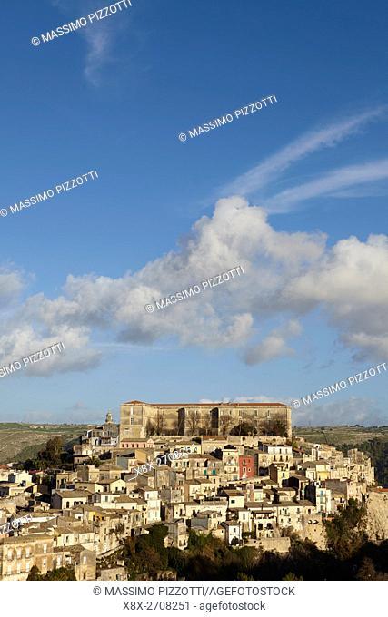 Cityscape of Ragusa Ibla, Sicily, Italy