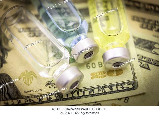 healt care costs concept