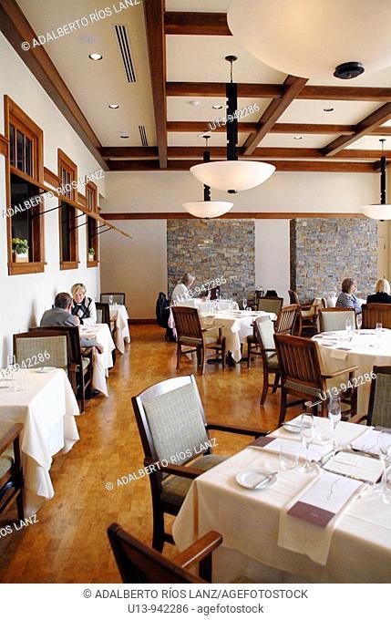 Restaurant, Willamette Valley, Oregon, USA