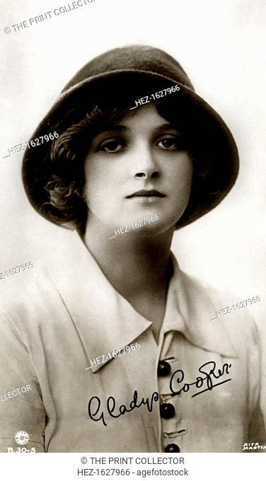 Gladys Cooper (1888-1971), English actress, early 20th century