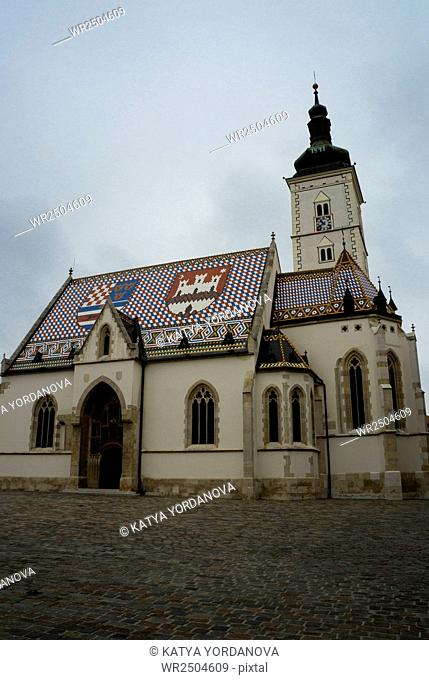 St. Mark's Church, St. Mark's Square, Zagreb, Croatia