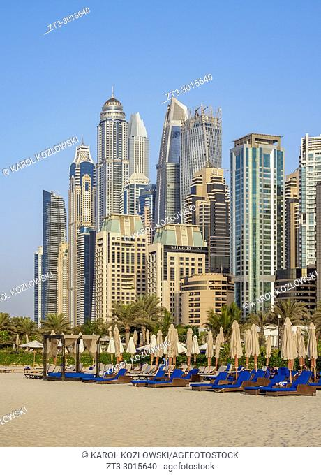 Dubai Marina JBR Beach, Dubai, United Arab Emirates