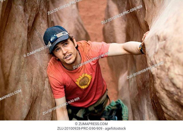 RELEASE DATE: 5 November 2010. TITLE: 127 Hours. STUDIO: Cloud Eight Films. PLOT: A mountain climber becomes trapped under a boulder while canyoneering alone...