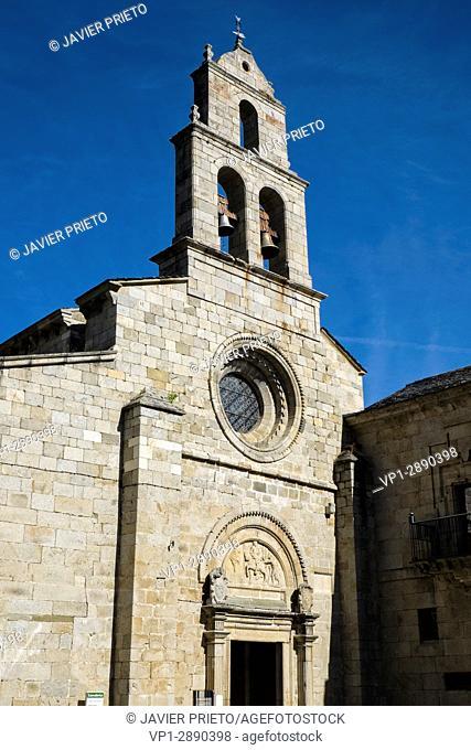 Monastery of San Martín de Castañeda. XII century. Natural Park of the Lake of Sanabria. Zamora. Castilla y León. Spain