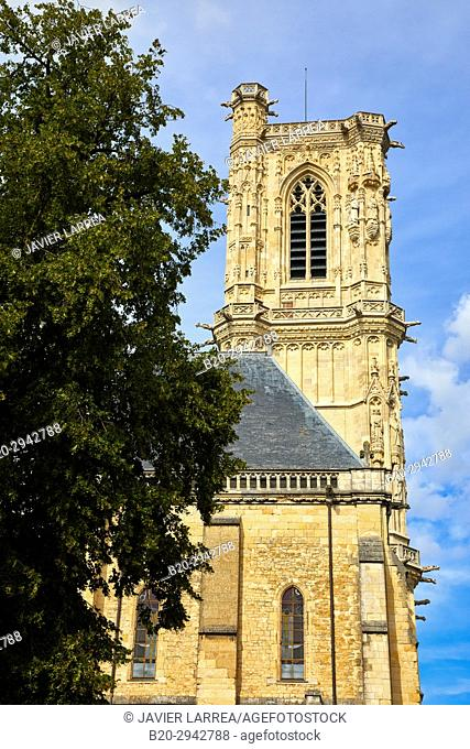 Cathedral Saint Cyr and Sainte Julitte, Nevers, Nievre, Bourgogne, France, Europe
