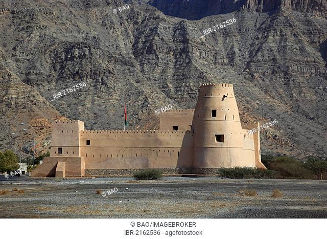 Al Qala Fort, Bukha, in the Omani enclave of Musandam, Oman, Arabian Peninsula, Middle East, Asia