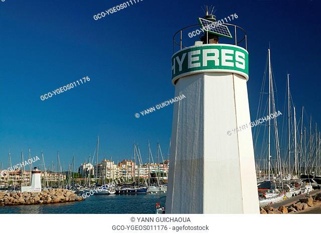 Harbour Of Hyeres, Var, Provence, France