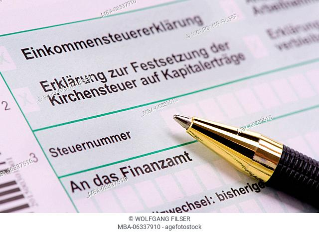 tax form for tax office