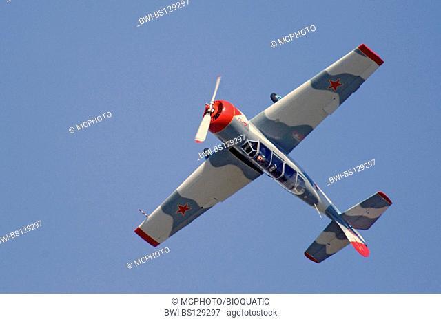 Yakolev Yak-52 at Sola Airshow, Norway