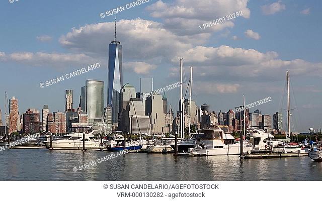 One World Trade Center and Marina