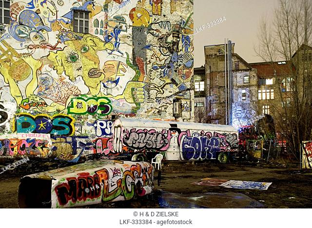 Art- and culture centre Tacheles, Oranienburger street, Berlin, Germany, Europe