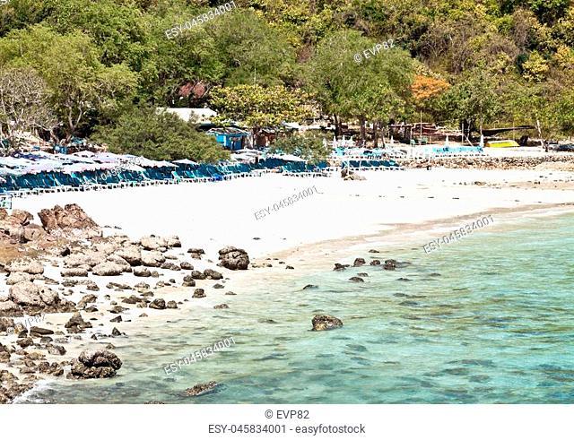 Sangwan beach on Koh Larn (Pattaya, Thailand)