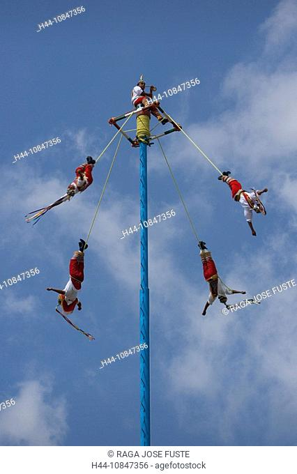 Mexico, Central America, America, Veracruz State, El Tajin, UNESCO, World heritage site, flying men, South America, Fe
