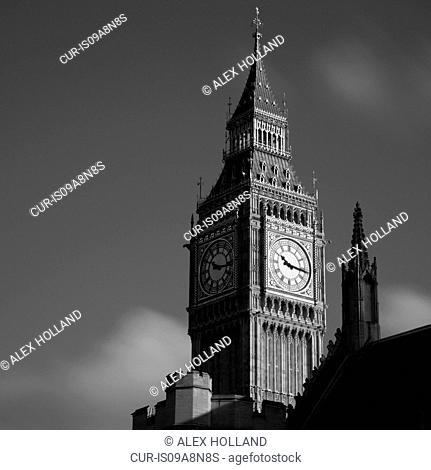 Big Ben, Houses of Parliament, Westminster, London, UK