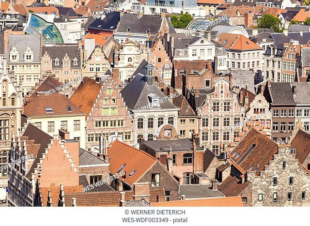 Belgium, Ghent, old town, cityscape