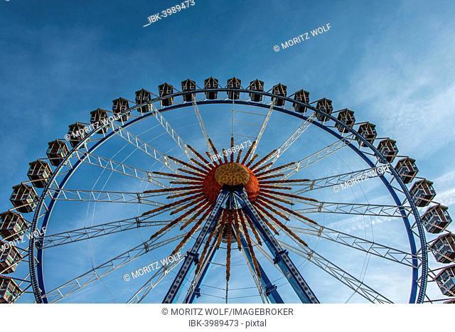 Ferris wheel, Oktoberfest, Munich, Upper Bavaria, Bavaria, Germany