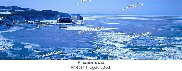 Seacoast, Utoro, Shari, Hokkaido, Japan