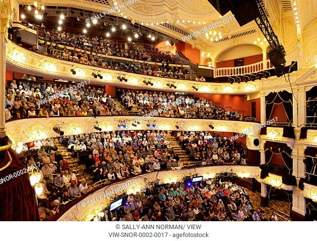 The Theatre Royal, Newcastle originally opened in 1837. In 1899 the theatre was destroyed by fire and was restored and redesigne