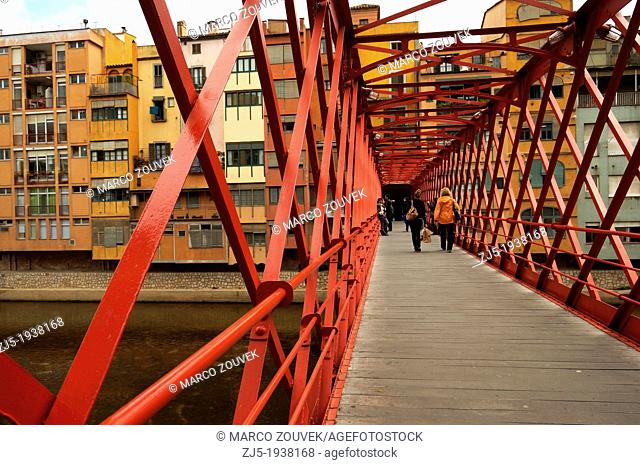 Eiffel Bridge. The bridge is named after Gustave Eiffel who built this bridge in 1876, years before building the Eiffel tower in Paris
