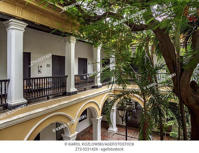 Magdalena University Cultural Center, former San Juan Nepomuceno Cloister, Santa Marta, Magdalena Department, Colombia