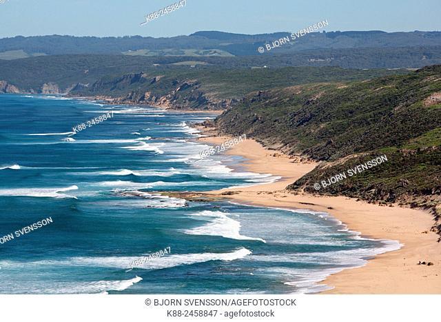 Aire River Beach along the Great Ocean Walk. Victoria, Australia