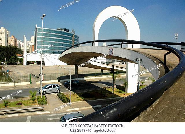 Brazil, Sao Paulo, the Memorial da America Latina, in the Barra Funda neighborhood
