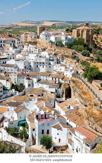 Setenil de las bodegas, Cadiz, Andalucia, Spain