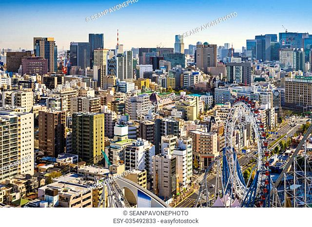 Tokyo, Japan cityscape from Bunkyo Ward