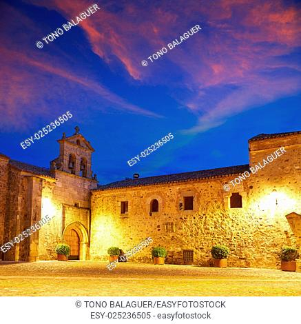 Caceres St Paul convent in Spain Extremadura Convento de San Pablo