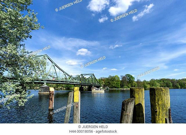 Germany, Brandenburg, Potsdam, Glienicker Bridge, Glienecker Bruecke, Havel River, Bridge Man Made Structure