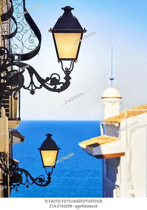Altea. Alicante. Valencia community. Spain