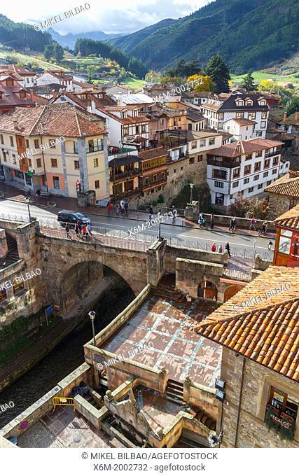 Potes, Comarca of Liebana. Cantabria, Spain
